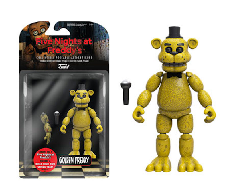 Funko Five Night At Freddy's action figure Golden Freddy