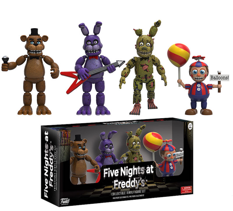 Funko Five Night At Freddy's vinyl figures #2