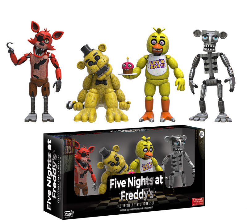 Funko Five Night At Freddy's vinyl figures
