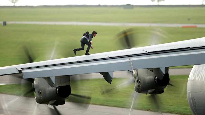 Mission Impossible Rogue Nation plane