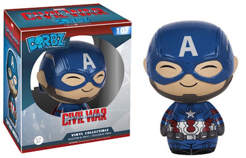 Funko Dorbz Marvel Captain America Civil War 107 Captain America