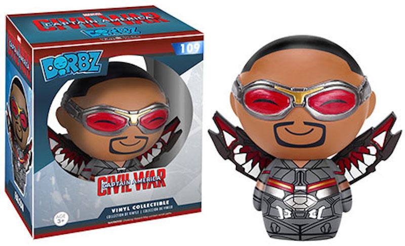 Funko Dorbz Marvel Captain America Civil War 109 Falcon