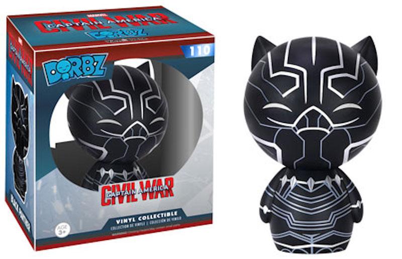 Funko Dorbz Marvel Captain America Civil War 110 Black Panther