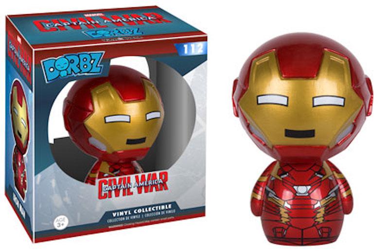 Funko Dorbz Marvel Captain America Civil War 112 Iron Man