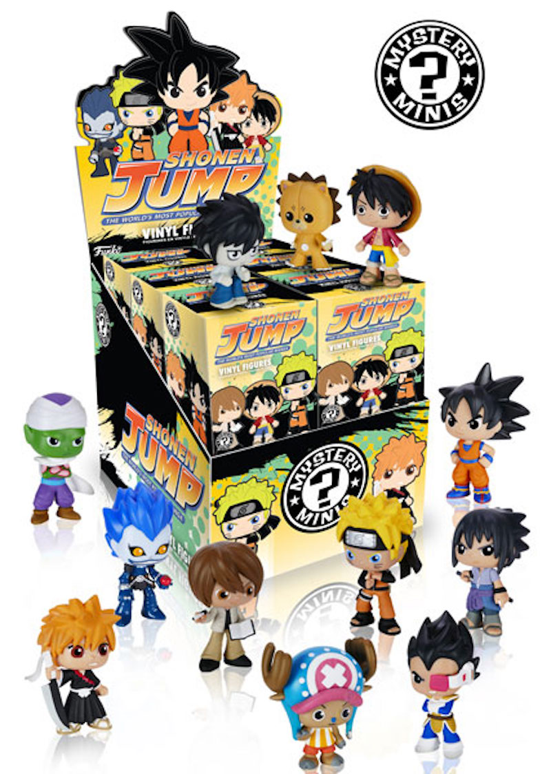 Funko Mystery Minis Best Of Anime S2 Death Note, Dragonball Z, One Piece, Bleach box shot