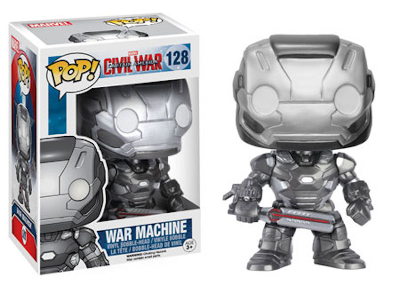 Funko POP! Marvel Captain America Civil War 128 War Machine