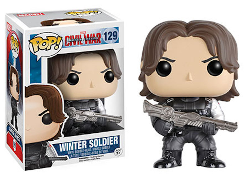 Funko POP! Marvel Captain America Civil War 129 Winter Soldier