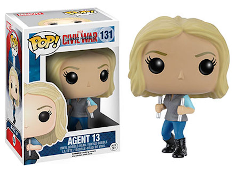 Funko POP! Marvel Captain America Civil War 131 Agent 13