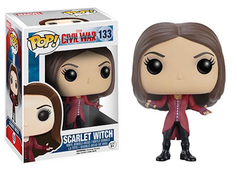 Funko POP! Marvel Captain America Civil War 133 Scarlet Witch