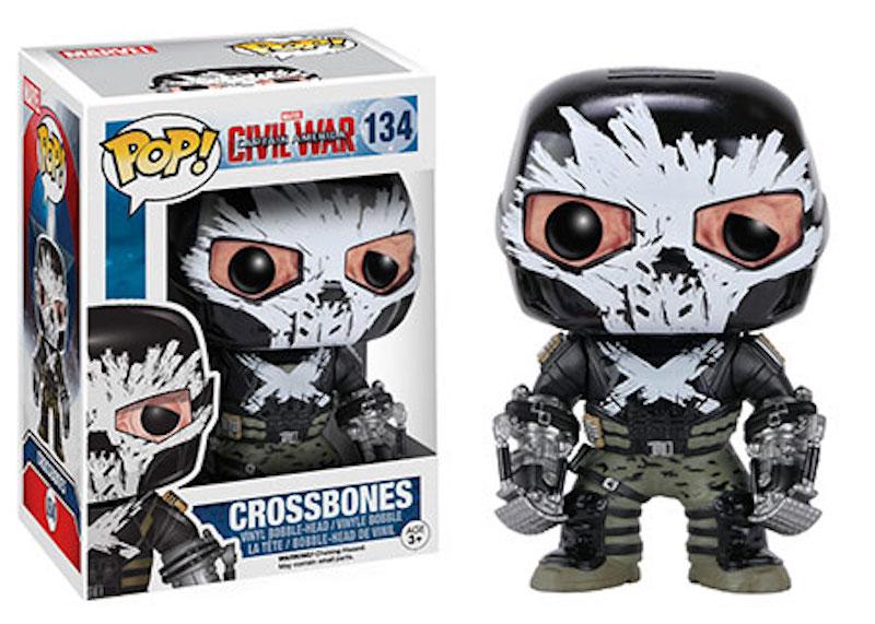 Funko POP! Marvel Captain America Civil War 134 Crossbones