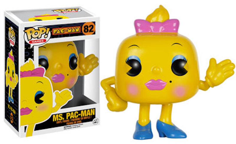 Funko Pac-Man 82 Ms. Pac-Man