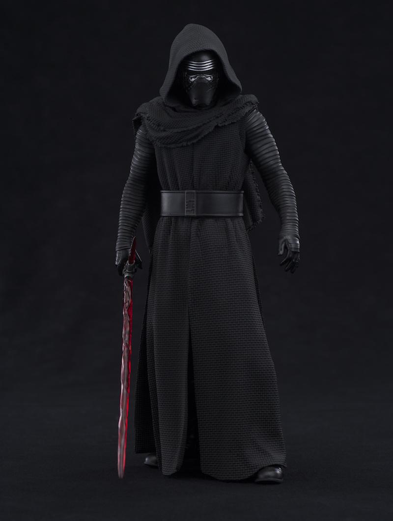 Kotobukiya Star Wars The Force Awakens Kylo Ren hood