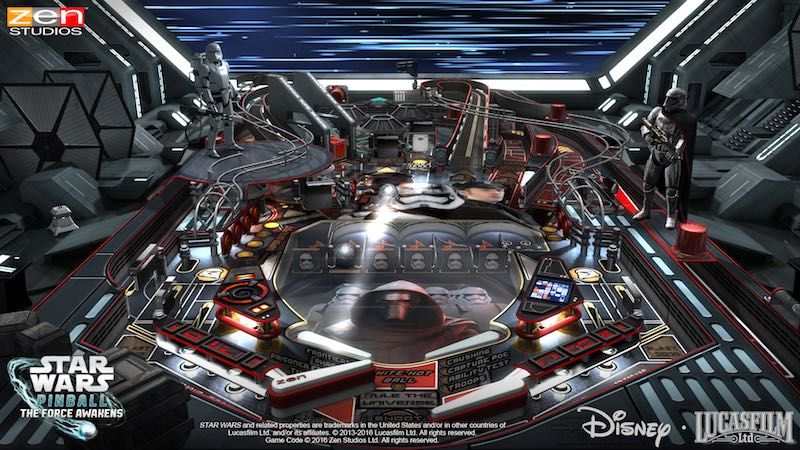 Star Wars Pinball Might Of The First Order 01