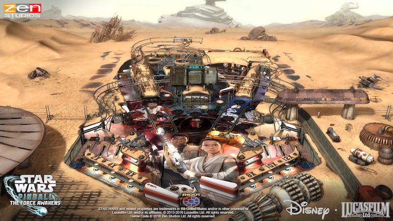 Star Wars Pinball The Force Awakens 01
