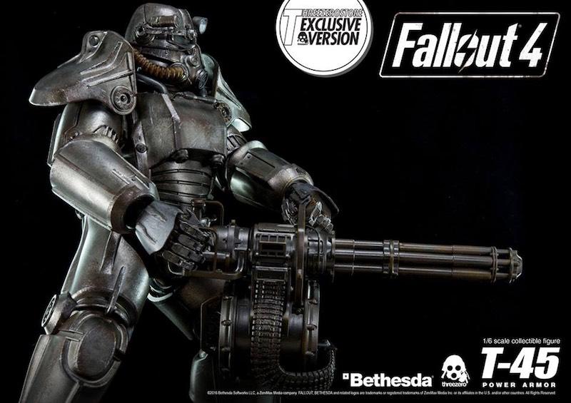 Threezero Fallout 4 minigun