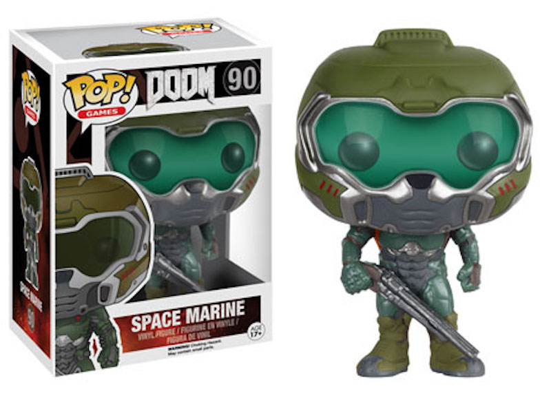 Funko POP! Bethesda Doom 90 Space Marine