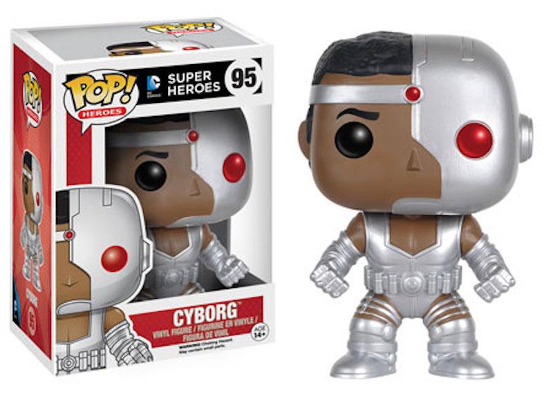 Funko POP! DC Comics 95 Cyborg