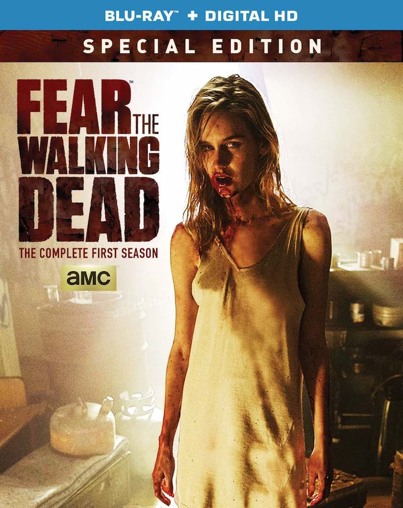 Fear The Walking Dead The Complete First Season Special Edition cover