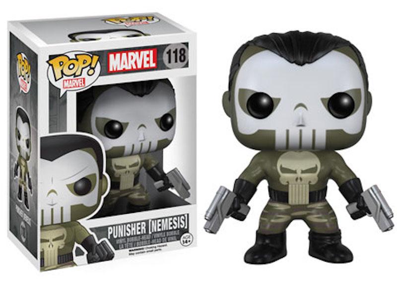 Funko Marvel Comics POP! 118 Punisher (Nemesis)