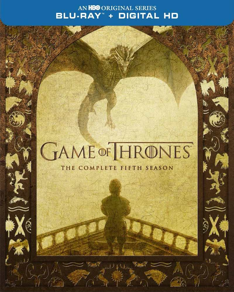 Game Of Thrones The Complete Fifth Season cover