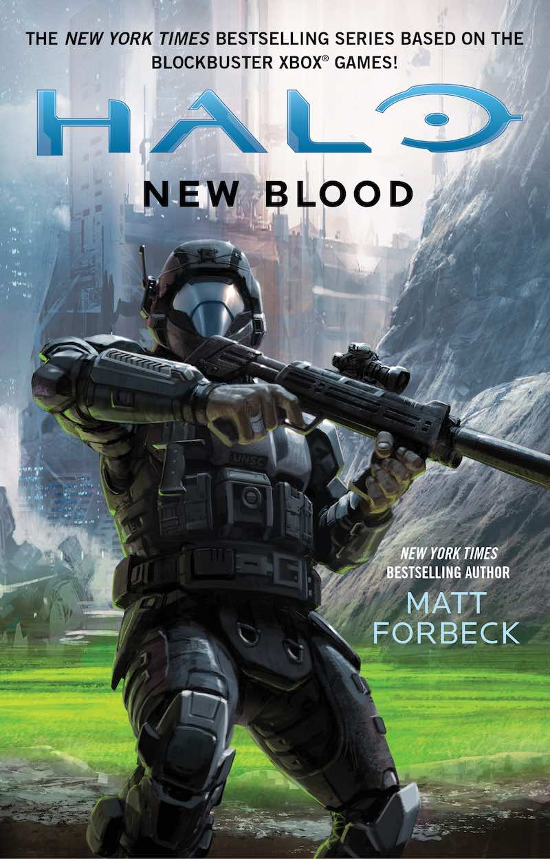 Halo New Blood Matt Forbeck cover