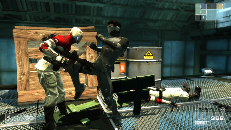 Shadow Complex Remastered melee