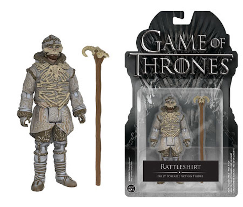 Funko Game Of Thrones Action Figures Rattleshirt