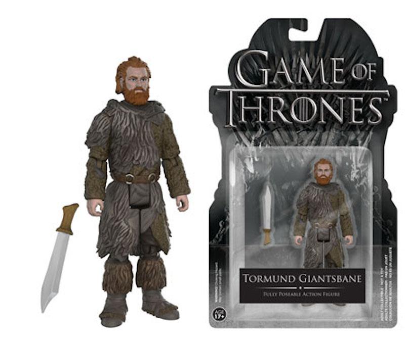 Funko Game Of Thrones Action Figures Tormund Giantsbane