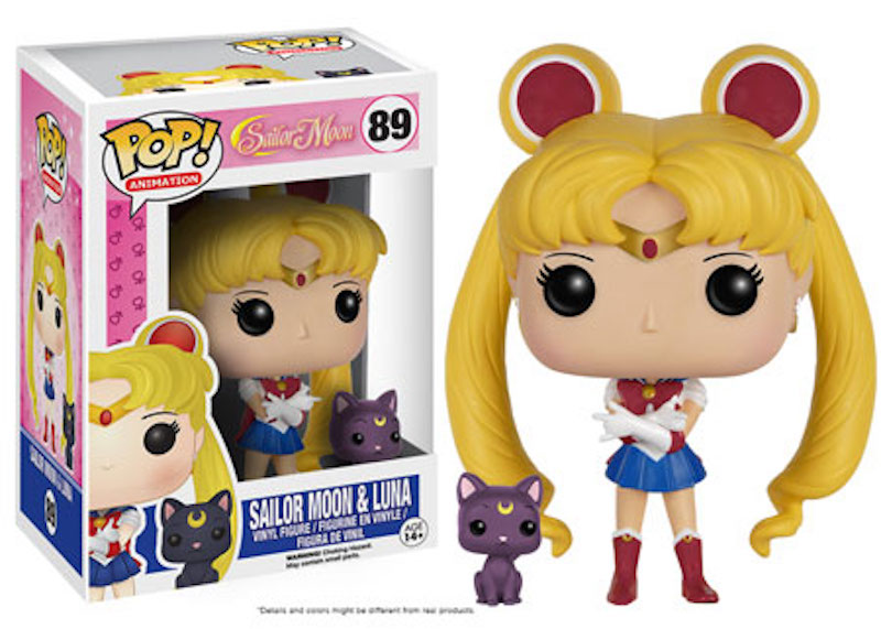 Funko POP! Sailor Moon 89 Sailor Moon And Luna