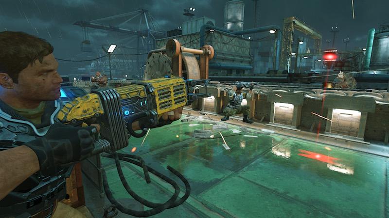 Gears Of War 4 Multiplayer Beta DROPSHOT
