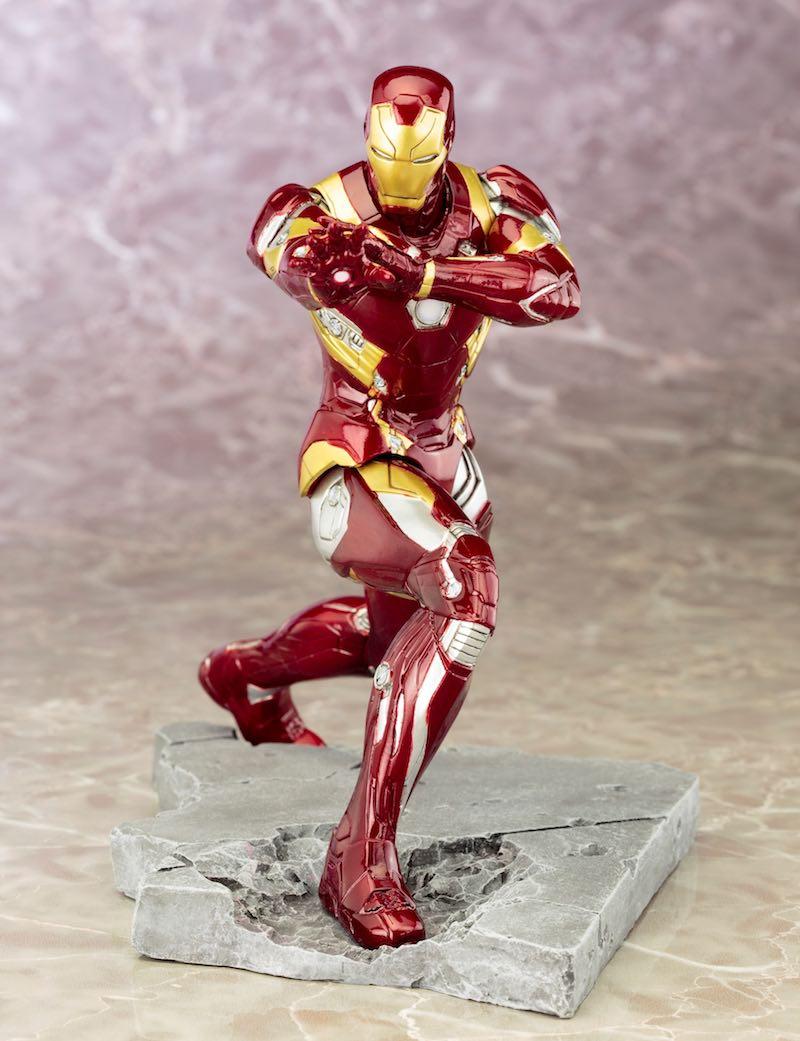 Kotobukiya ARTFX+ Captain America Civil War Iron Man