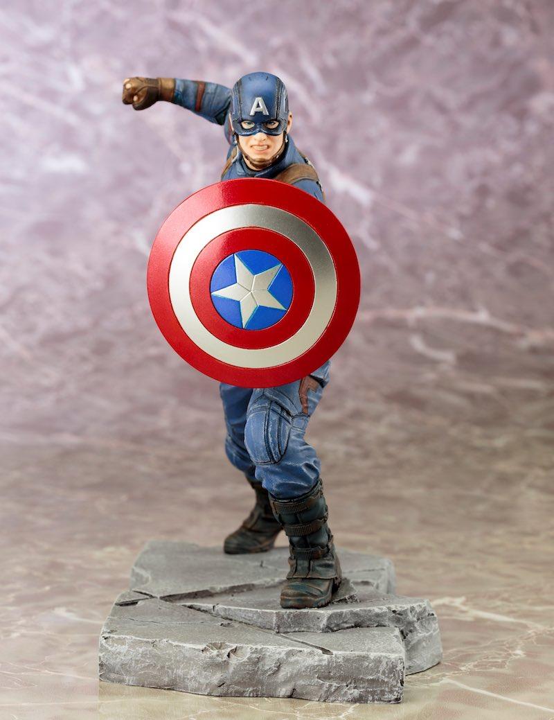 Kotobukiya ARTFX+ Captain America Civil War