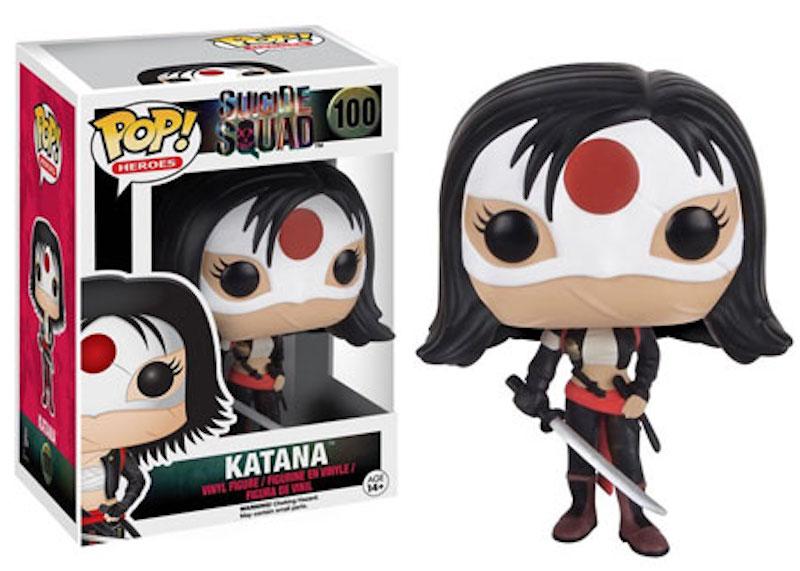 Funko POP! Suicide Squad 100 Katana