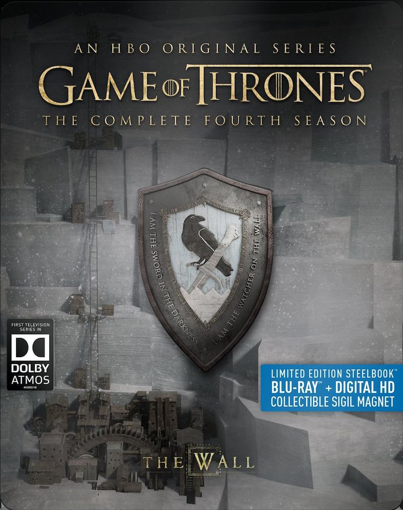 Game Of Thrones The Complete Fourth Season Steelbook Blu-ray cover