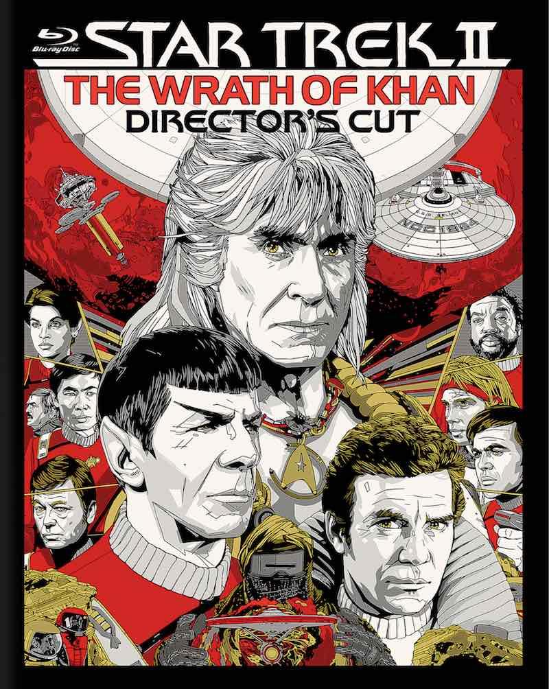 Star Trek II The Wrath Of Khan Director's Cut cover