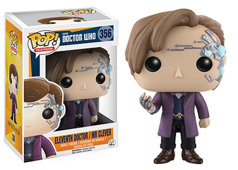 Funko POP Doctor Who 356 Eleveth Doctor Mr Clever