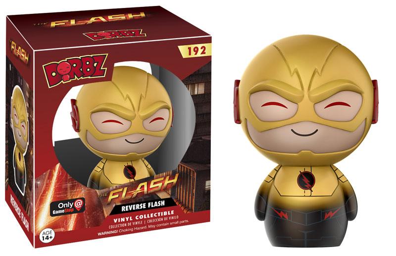 Funko Dorbz Arrow Flash 192 Reverse Flash