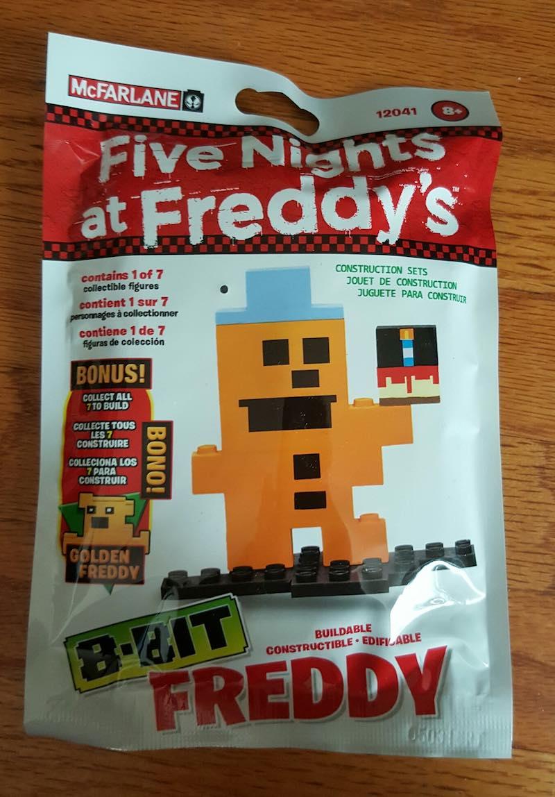 McFarlane Five Nights At Freddy's Construction Set Freddy