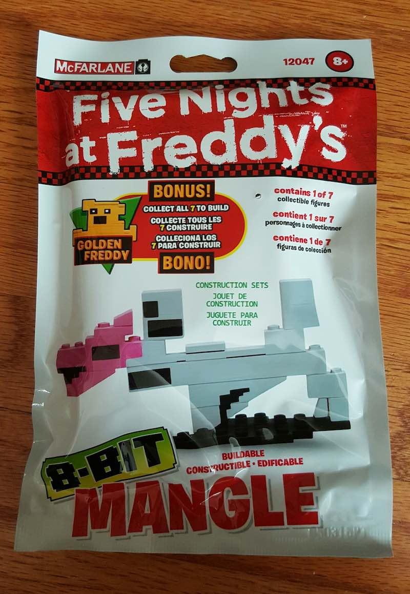 McFarlane Five Nights At Freddy's Construction Set Mangle