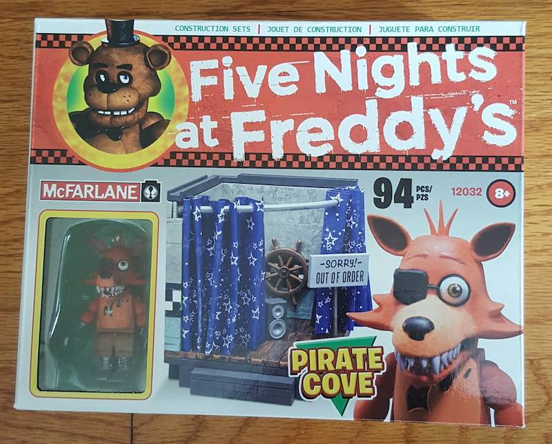 McFarlane Five Nights At Freddy's Construction Set Pirate Cove