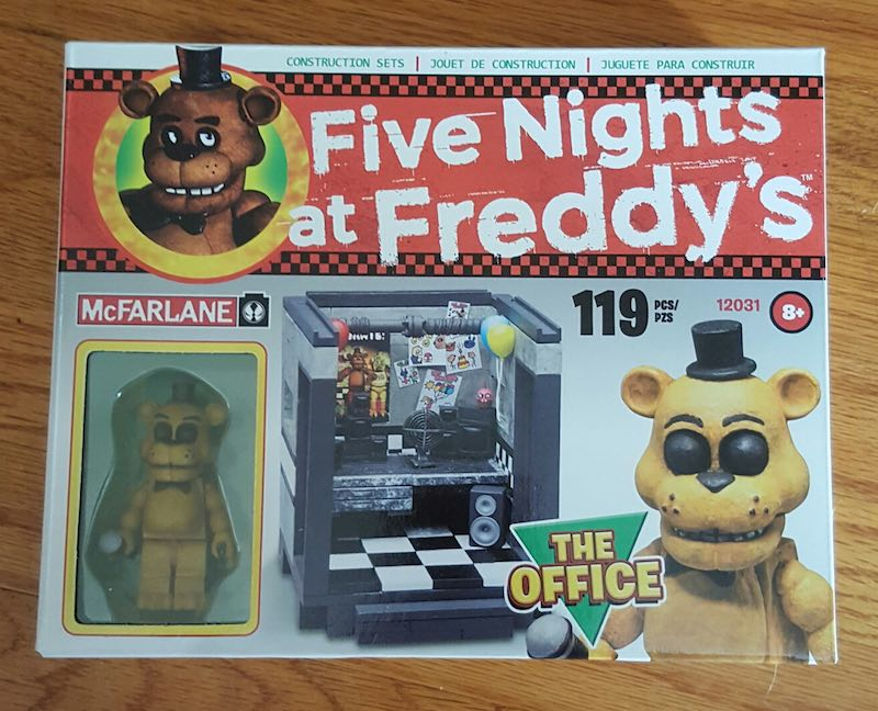 McFarlane Five Nights At Freddy's Construction Set The Office