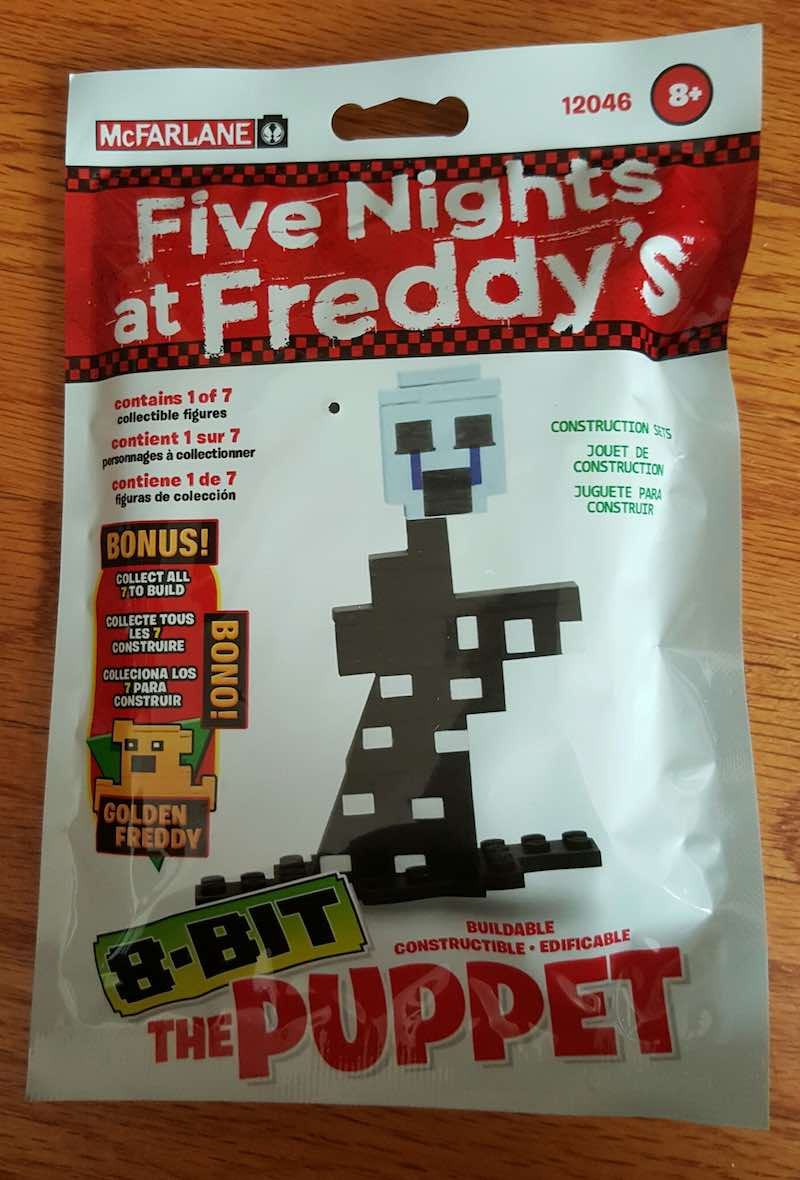 McFarlane Five Nights At Freddy's Construction Set The Puppet