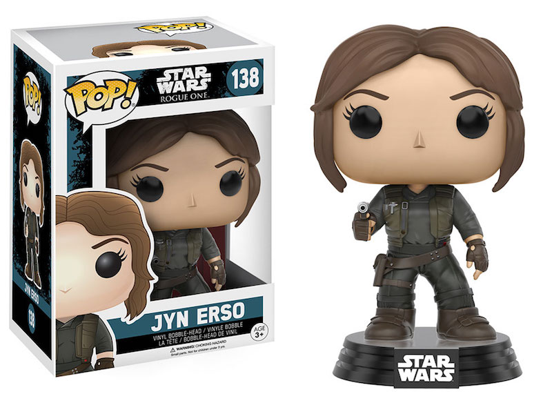 Funko Rogue One A Star Wars Story POP 138 Jyn Erso