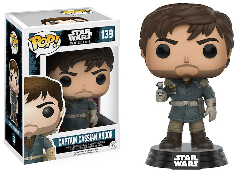 Funko Rogue One A Star Wars Story POP 139 Captain Cassian Andor