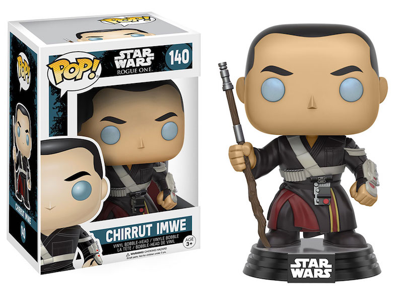 Funko Rogue One A Star Wars Story POP 140 Chirrut Imwe