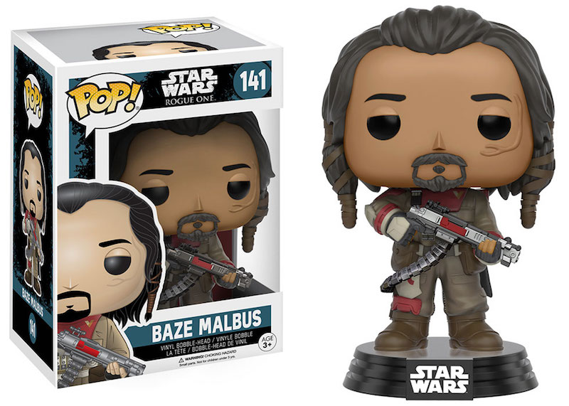 Funko Rogue One A Star Wars Story POP 141 Baze Malbus