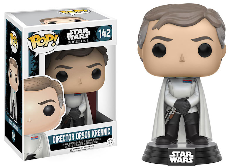 Funko Rogue One A Star Wars Story POP 142 Director Orson Krennic