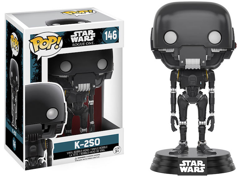 Funko Rogue One A Star Wars Story POP 146 K-2SO