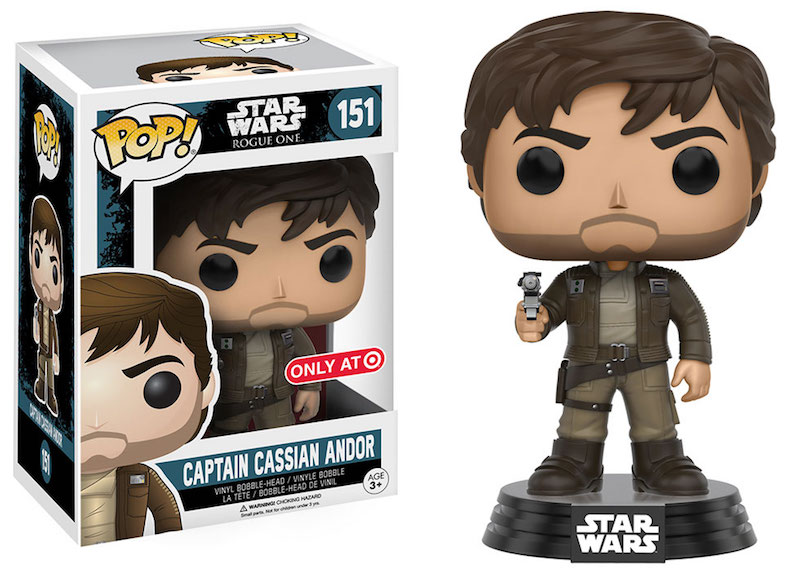 Funko Rogue One A Star Wars Story POP 151 Captain Cassian Andor