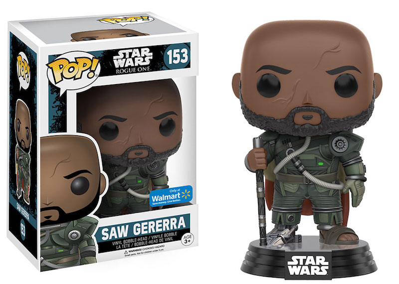 Funko Rogue One A Star Wars Story POP 153 Saw Gererra